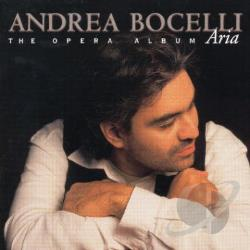 Bocelli, Andrea - Aria: The Opera Album CD Cover Art