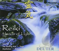 Deuter - Reiki: Hands of Light CD Cover Art