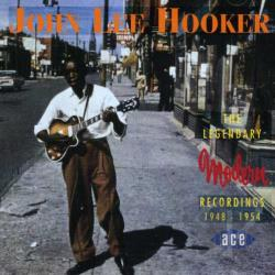 Hooker, John Lee - Legendary Modern Recordings CD Cover Art