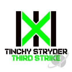 Stryder, Tinchy - Third Strike CD Cover Art