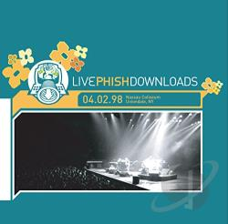 Phish - Nassau Coliseum, Uniondale, NY 4/2/98 CD Cover Art
