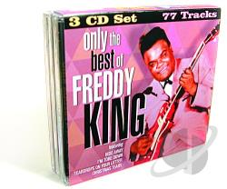 King, Freddie - Only the Best of Freddie King CD Cover Art