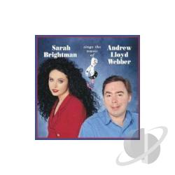 Brightman, Sarah - Sings the Music of Andrew Lloyd Webber CD Cover Art