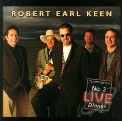 Keen, Robert Earl - No.2 Live Dinne CD Cover Art