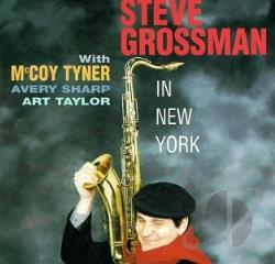 Grossman, Steve - In New York CD Cover Art