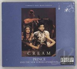 Prince - Cream CD Cover Art