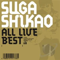 Suga, Shikao - All Live Best CD Cover Art