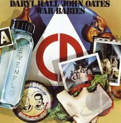 Daryl Hall & John Oates - War Babies CD Cover Art