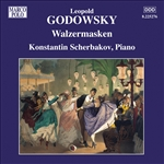 Godowsky / Scherbakov - Leopold Godowsky: Piano Music, Vol. 10 CD Cover Art