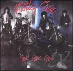Motley Crue - Girls Girls Girls CD Cover Art