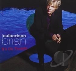Culbertson, Brian - It's on Tonight CD Cover Art