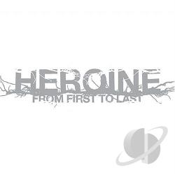 From First To Last - Heroine CD Cover Art