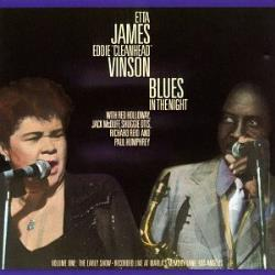 James, Etta - Blues in the Night, Vol. 1: The Early Show CD Cover Art