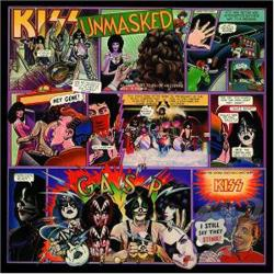 Kiss - Unmasked CD Cover Art