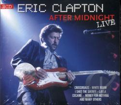Clapton, Eric - After Midnight: Live CD Cover Art