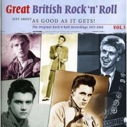 Great British Rock N Roll 5 CD Cover Art