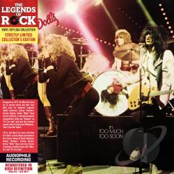 New York Dolls - Too Much Too Soon CD Cover Art