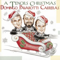 Carreras / Domingo / Pavarotti - Tenors Christmas CD Cover Art