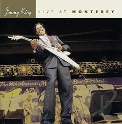 King, Jimmy - Live At Monterey CD Cover Art