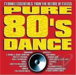 Pure 80's Dance CD Cover Art