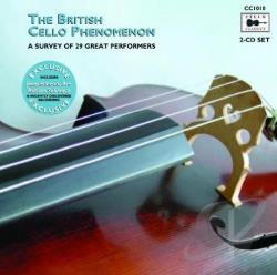 du Pre, Jacqueline:vc - British Cello Phenomenon: A Survey of 29 Great Performers CD Cover Art
