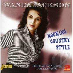 Jackson, Wanda - Rocking Country Style: Early Album Collection CD Cover Art