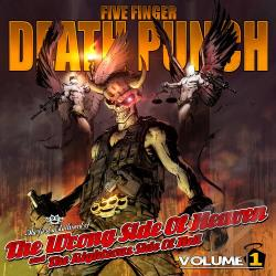 Five Finger Death Punch - Wrong Side of Heaven and the Righteous Side of Hell, Vol. 1 LP Cover Art