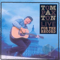 Paxton, Tom - Live: For the Record CD Cover Art