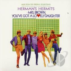 Herman's Hermits - Mrs. Brown, You've Got A Lovely Daughter CD Cover Art