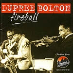 Bolton, Dupree - Fireball CD Cover Art