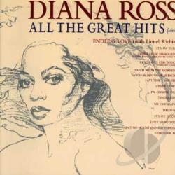 Ross, Diana - All the Great Hits CD Cover Art