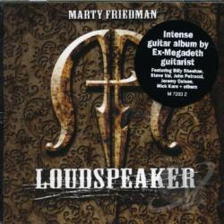 Friedman, Marty - Loudspeaker CD Cover Art