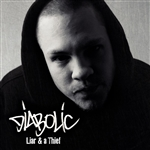 Diabolic - Liar and a Thief CD Cover Art