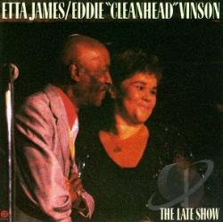 James, Etta - Late Show CD Cover Art