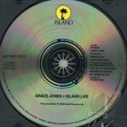 Jones, Grace - Island Life CD Cover Art