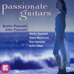Pizzarelli, Bucky / Pizzarelli, John - Passionate Guitars CD Cover Art