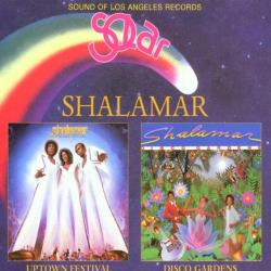 Shalamar - Uptown Festival/Disco Gardens CD Cover Art