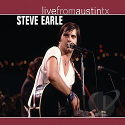 Earle, Steve - Live From Austin TX CD Cover Art