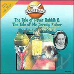 Rabbit Ears - Tale of Peter Rabbit & The Tale of Mr. Jeremy Fisher CD Cover Art