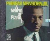 Newborn, Phineas Jr. - World of Piano! CD Cover Art