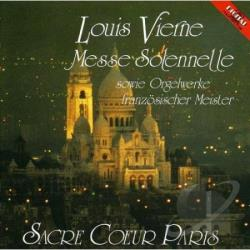 Vierne, L. - Messe Solennelle & Organ Works By French Master Co CD Cover Art