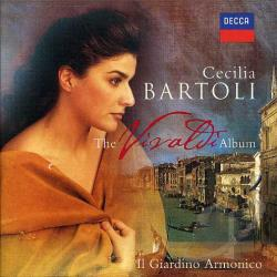 Bartoli, Cecilia - Vivaldi Album CD Cover Art