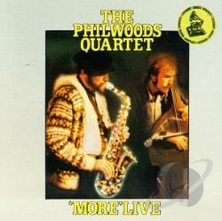Woods, Phil Quartet - More Live CD Cover Art