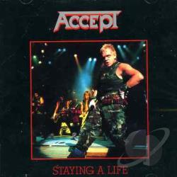 Accept - Staying a Life CD Cover Art
