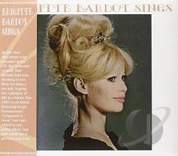 Bardot, Brigitte - Brigitte Bardot Sings CD Cover Art