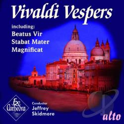 Ex Cathedra / Skidmore / Vivaldi - Vivaldi: Vespers CD Cover Art