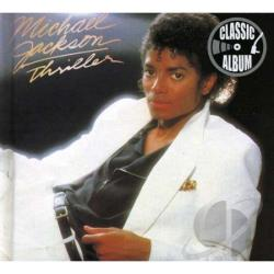 Jackson, Michael - Thriller CD Cover Art