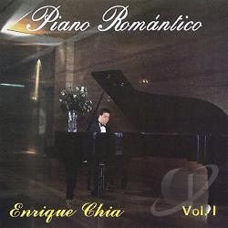 Chia, Enrique - Piano Romantico, Vol. 1 CD Cover Art