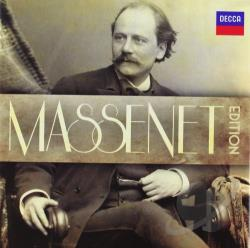 Massenet Edition CD Cover Art
