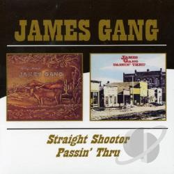 James Gang - Straight Shooter/Passin' Thru CD Cover Art